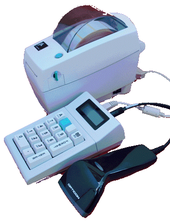 950 Label Printer with Scanner